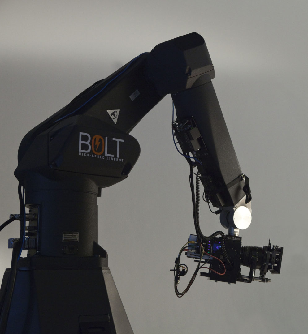 The Bolt - Motion Control Cinebot Rig by Camera Control